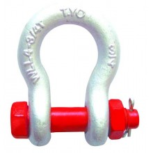 bow shape metal rigging shackle G2130
